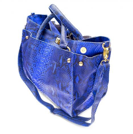 Bidadari Birkin Python leather bag